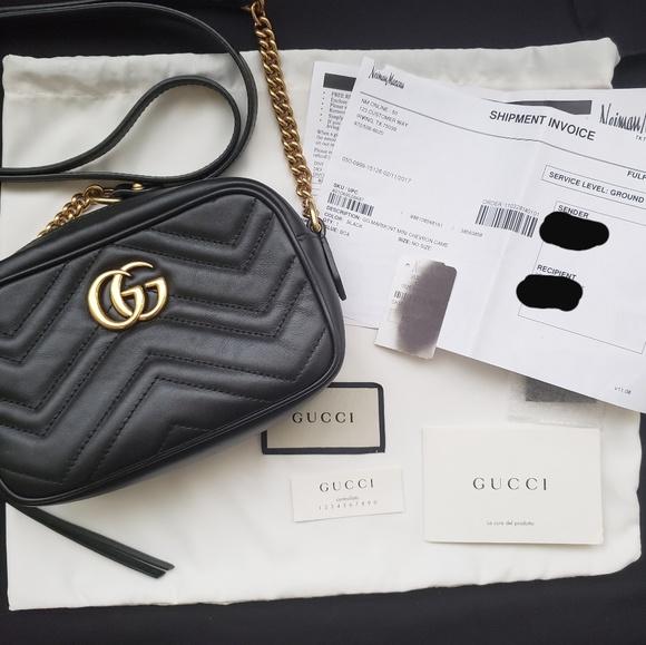 32b5999fd60c Gucci Bags | Gg Marmont Mini Matelasse Camera Bag Black | Poshmark
